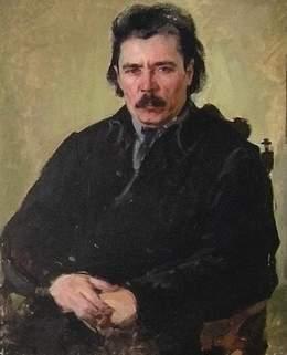 П.П.Беньков Г.Ибраһимов портреты